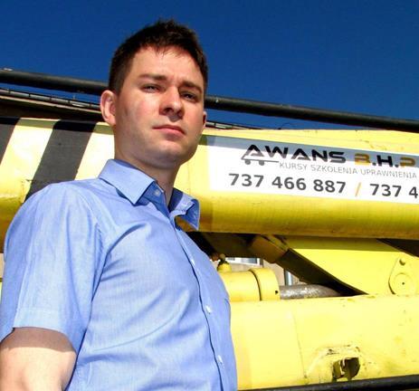 Artur Makowski - Instruktor (kursy na wózki, podesty i inne UTB)
