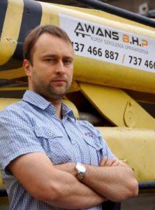 Marcin Skomiał- Instruktor, elektryk,