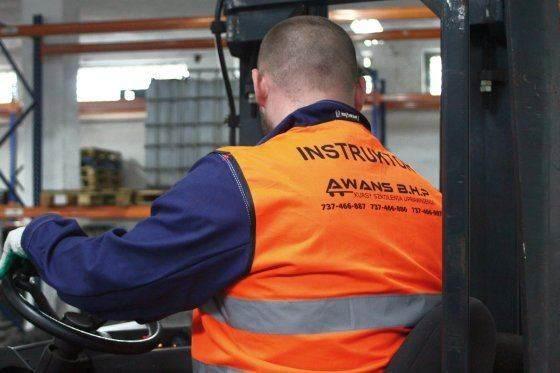Kurs na wózek w Awans BHP