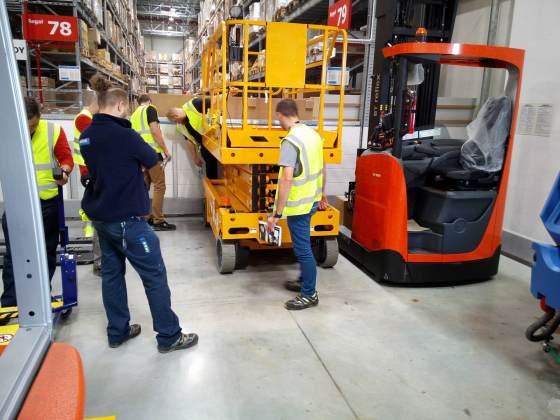 Szkolenie dla firmy Ikea prowadzone przez Awans BHP